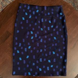 LuLaRoe Skirts - Lularoe Pencil Skirt Multicolored XL